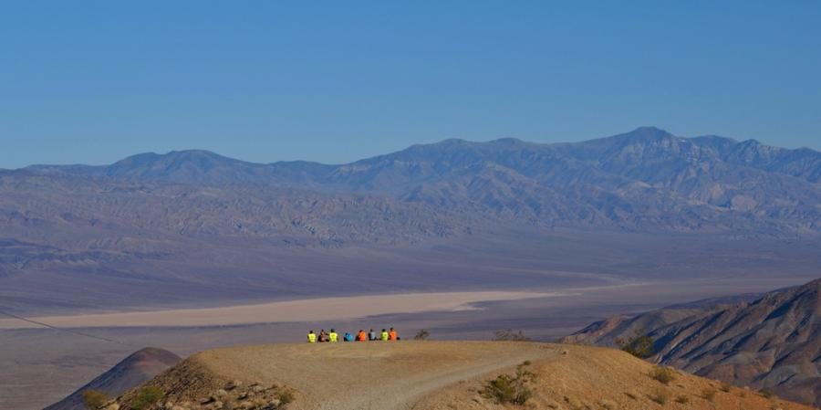 Blick ins Death Valley ...